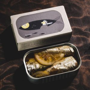 José Gourmet Sardines with Lemon in Olive Oil