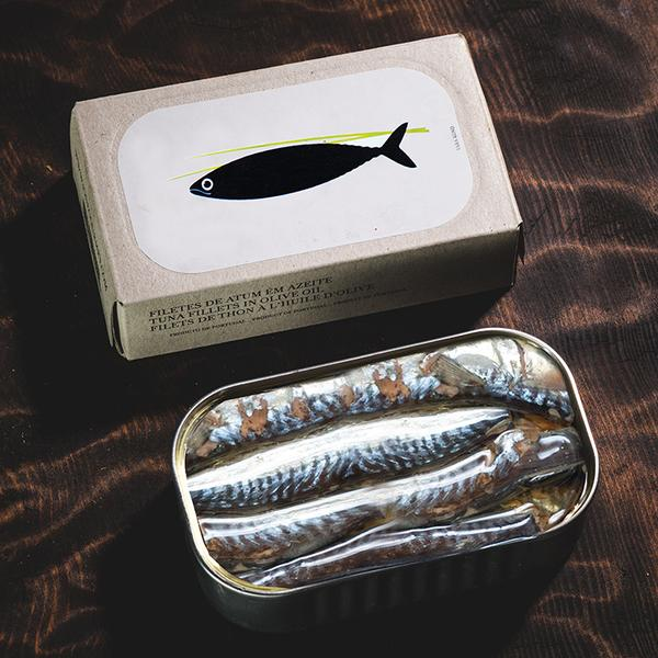 José Gourmet Small Mackerel in Olive Oil - Case of 8