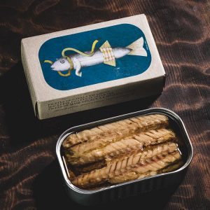 José Gourmet Mackerel Fillets in Olive Oil - Case of 8
