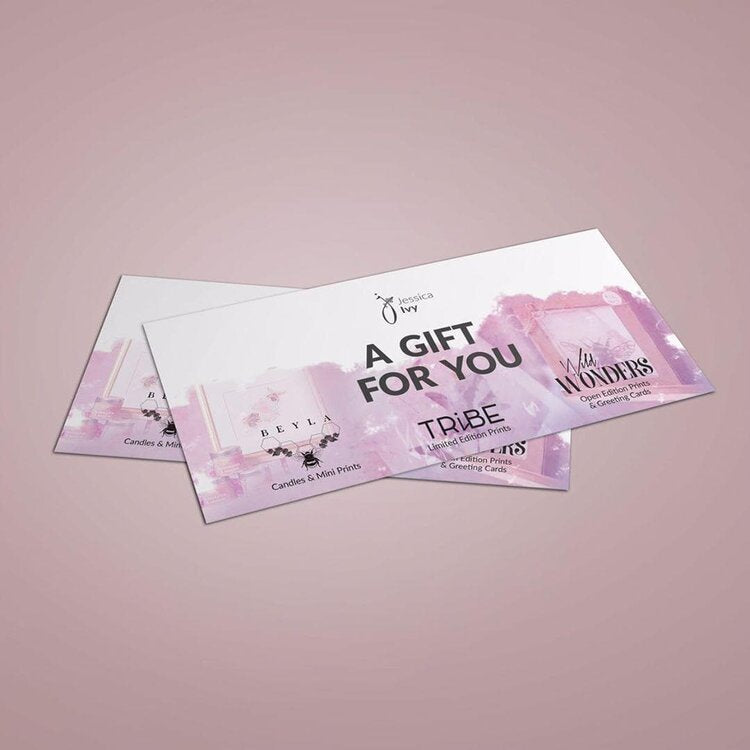 THE JESSICA IVY GIFT CARD