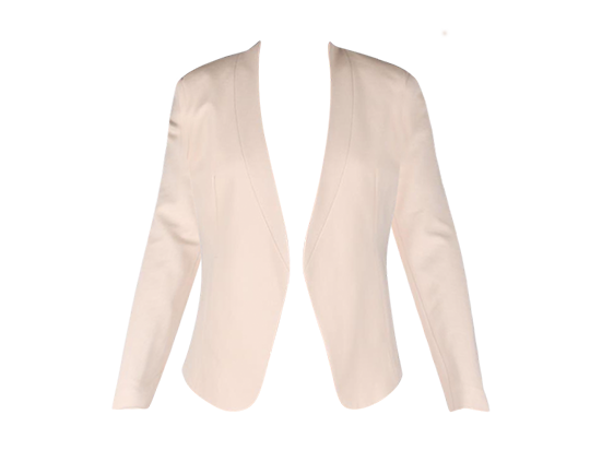 CREAM TAILORED JACKET