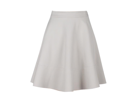 FLIPPY WHITE SKATER SKIRT