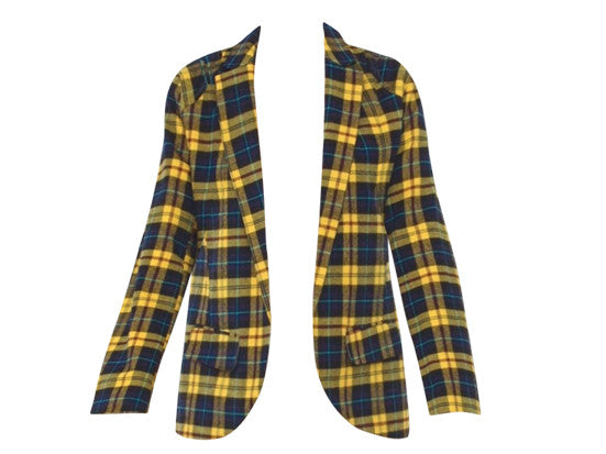 CHER PLAID JACKET