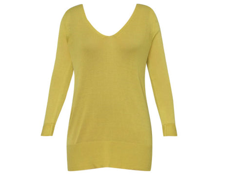CHER LONG YELLOW JUMPER