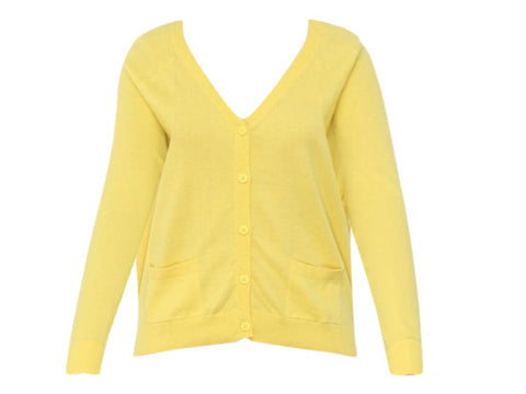 CHER YELLOW CARDIGAN