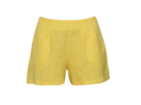 CHER YELLOW SHORTS