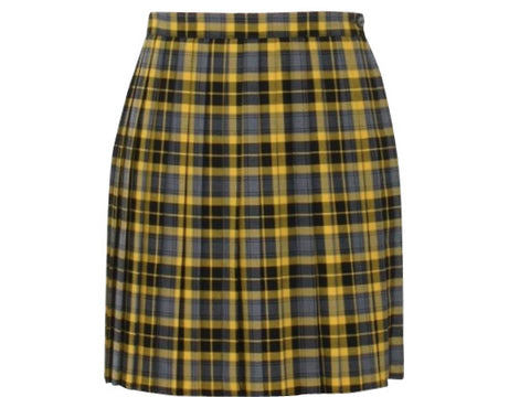 CHER PLAID SKIRT LONG