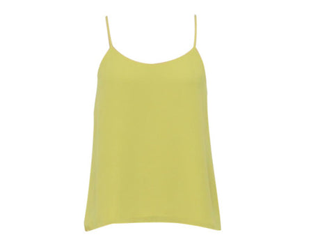 CHER YELLOW VEST TOP