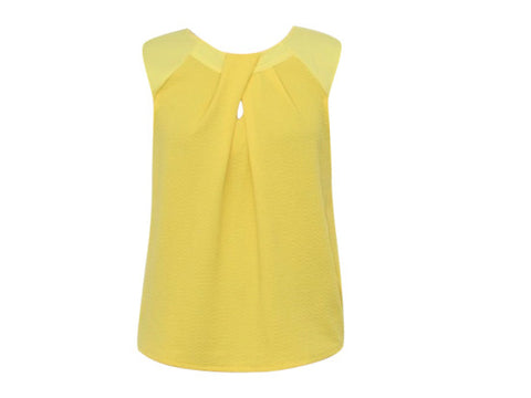 CHER YELLOW BLOUSE