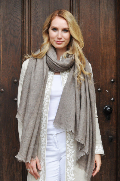Merino Wool Scarves and Wraps