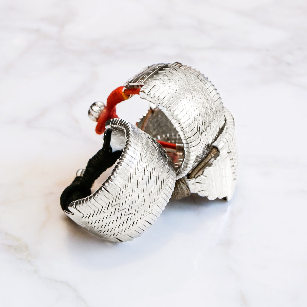 Chunky Silver-Plated Cuffs