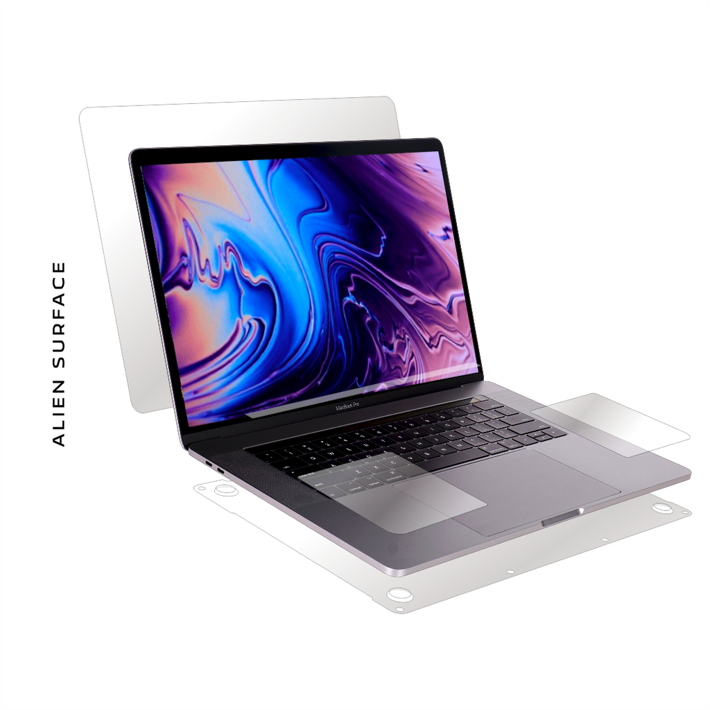 Apple MacBook Pro 13 inch Touch Bar (2019) film protection, Alien Surface