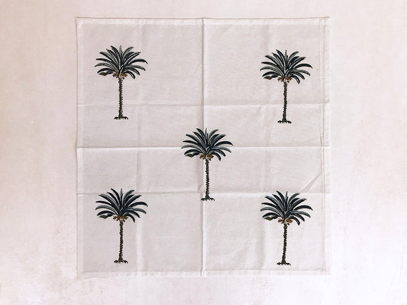unique cotton block printed napkins set of 4 _ gifts