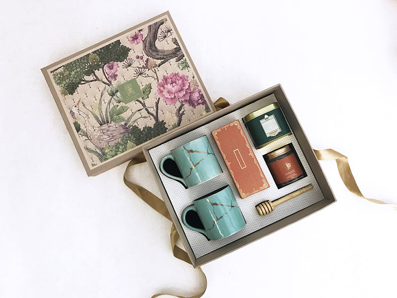 A joyous gift box to celebrate good health and a gesture to say thanks . Eid ul Fitr gifts