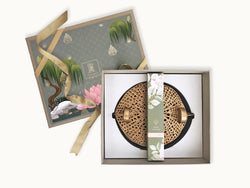 Nureen gift box _ Premium online gifts india _ home gifts _ housewarming gifts _ wedding favors _ giveaways _ festive gifts _ online gifts india _ wall t light holder _ incense sticks