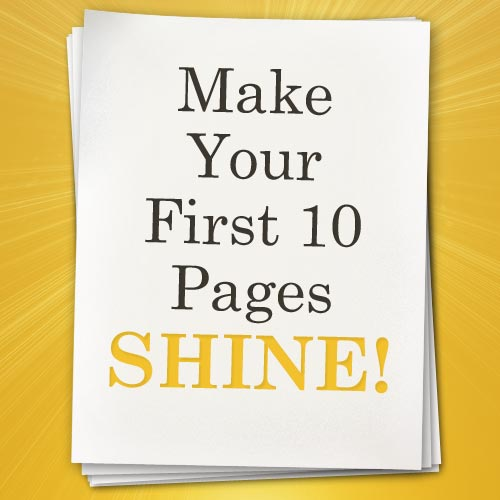 Make Your First 10 Pages Shine