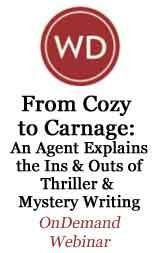 From Cozy to Carnage: An Agent Explains the Ins and Outs of Thriller/Mystery Writing
