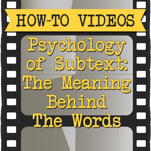 Psychology of Subtext: The Meaning Behind The Words