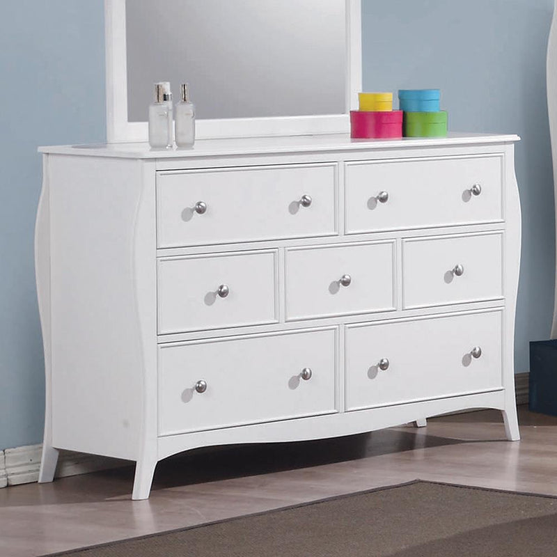 Dominique French Country White Dresser image