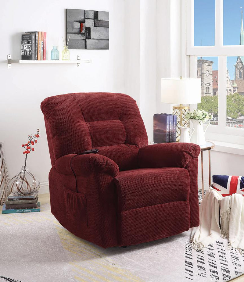 Brick Red Power Lift Recliner image