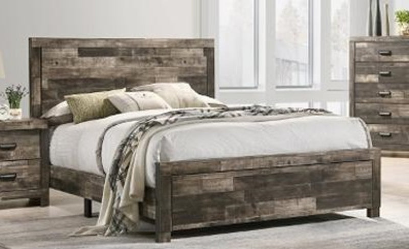 Crown Mark Tallulah King Panel Bed in Brown B9400-K-BED image