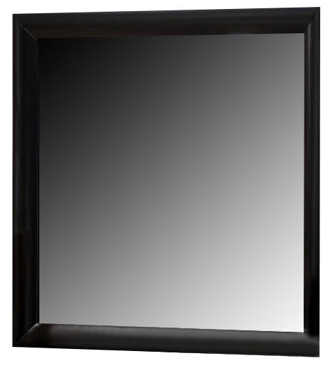 Crown Mark Furniture Emily Dresser Mirror in Black B4280-11 image