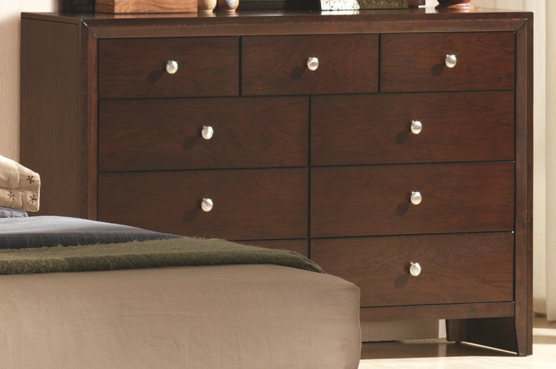 Crown Mark Furniture Evan Dresser in Warm Brown B4700-1 image
