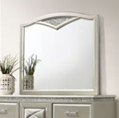 Crown Mark Valiant Dresser Mirror in Champagne B4780-11 image