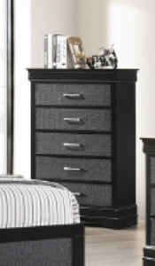 Crown Mark Amalia Chest in Black B6918-4 image