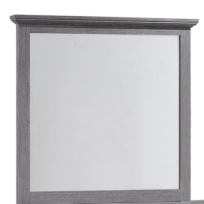 Crown Mark Sarter Mirror in Weathered Gray B4760-11 image