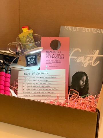 April ReadHer Box: Read and Relaxation