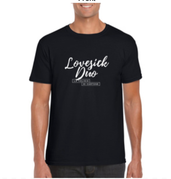 Lovesick Duo Men's short-sleeved t-shirt