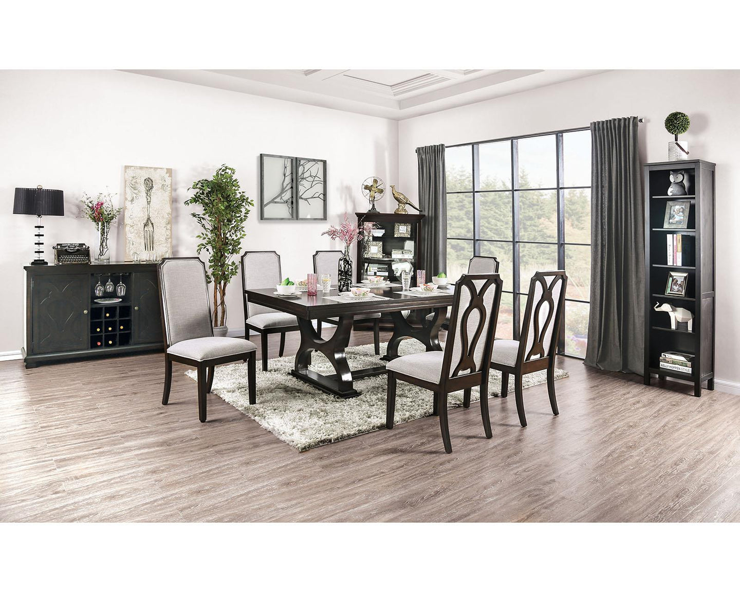 Gillam Espresso 7 Pc Dining Set