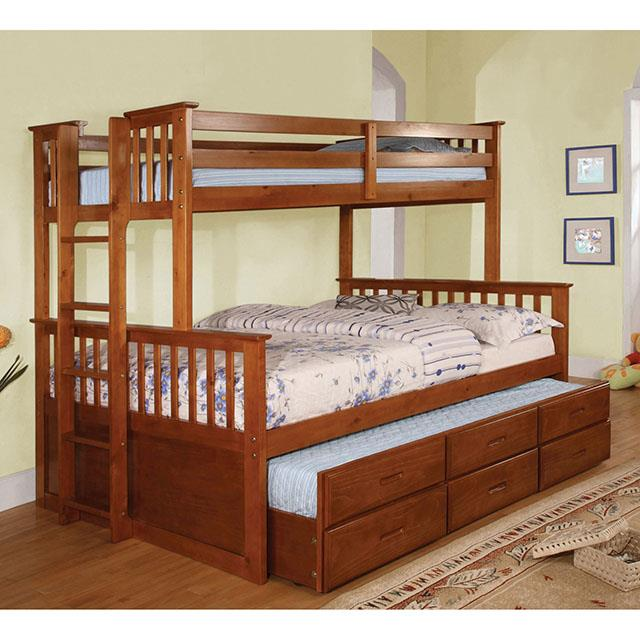 University I Oak Bunk Bed