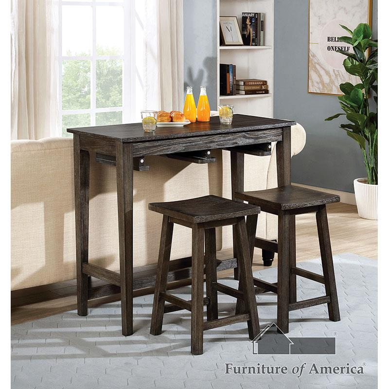 Elinor Gray Bar Table Set