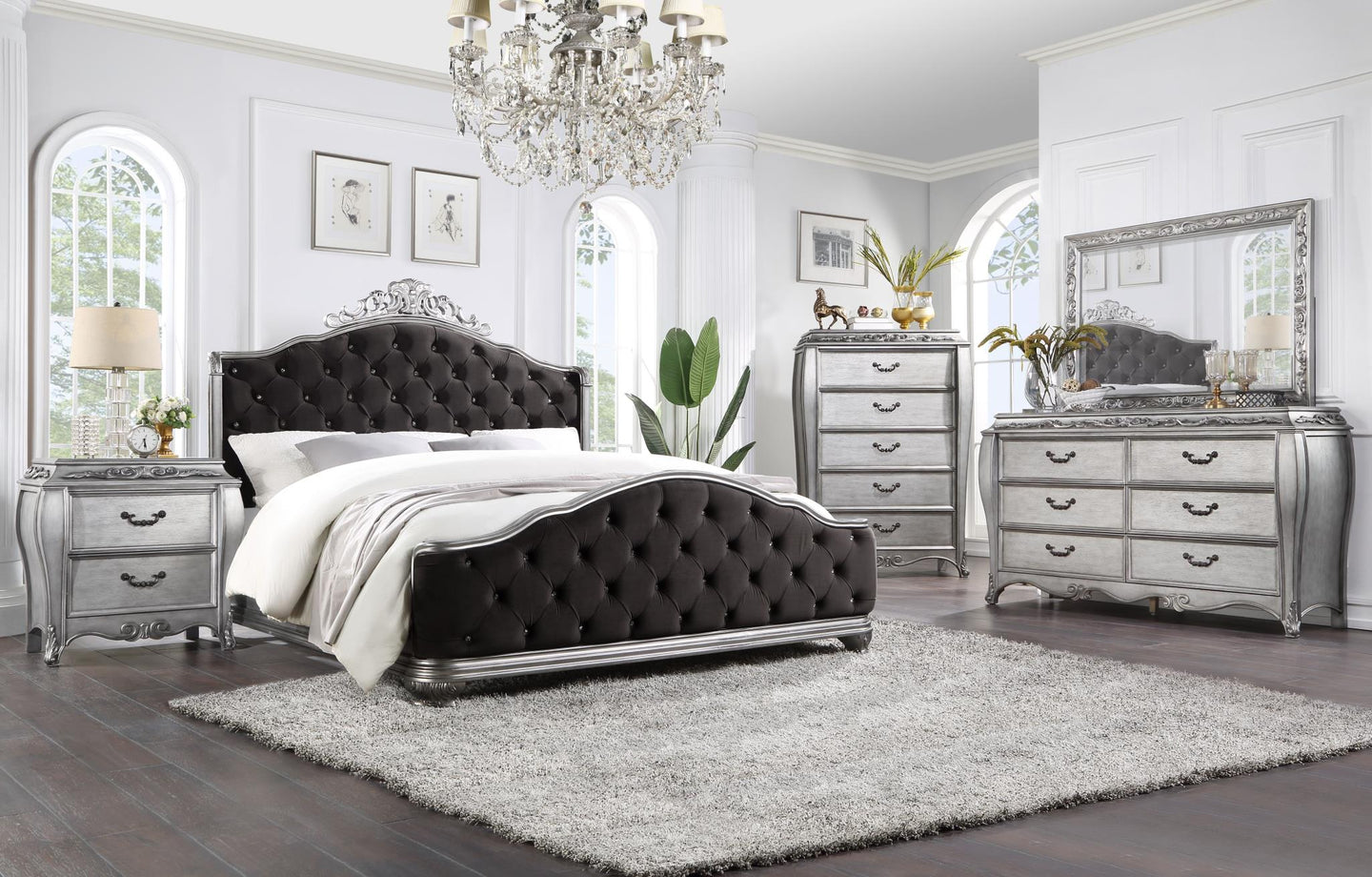 Leonora King Bed