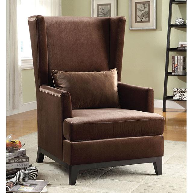 Stafa Dark Copper Accent Chair