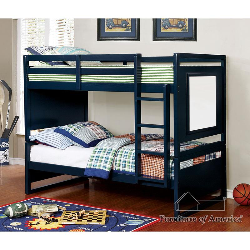 Glendale Blue Bunk Bed