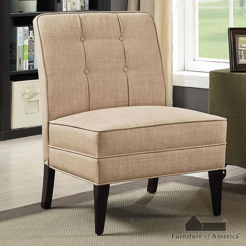 Deandra Beige Accent Chair