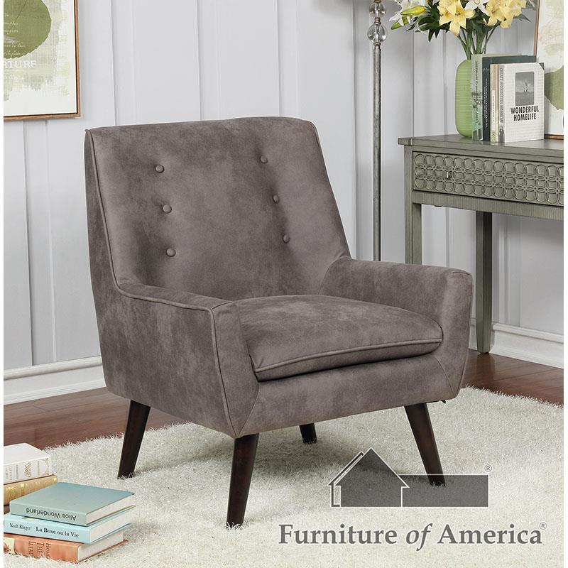 Ellery Dark Brown Chair