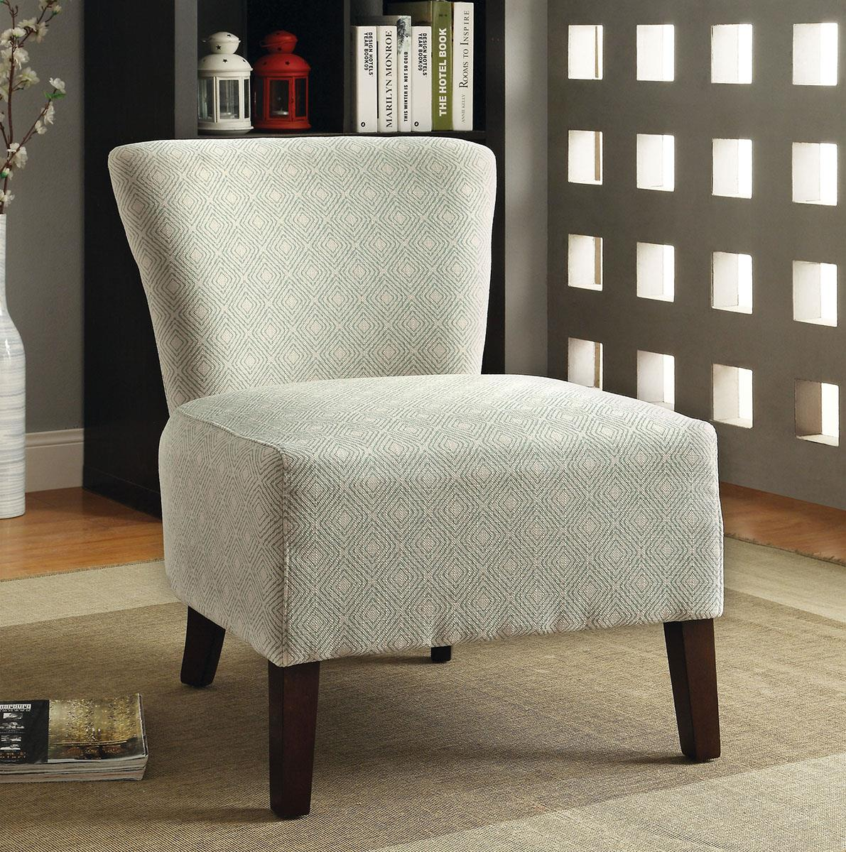 Olha Ivory Accent Chair