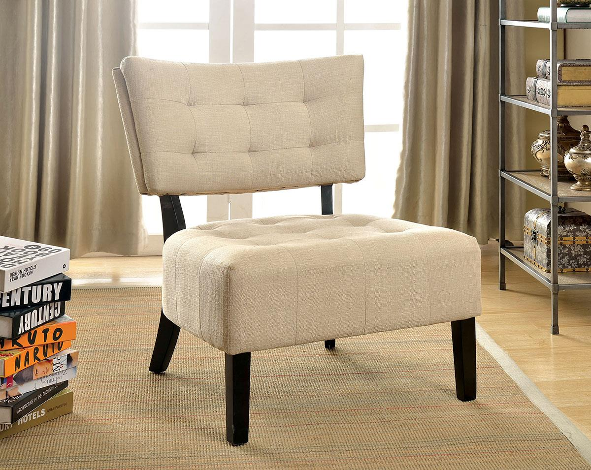 Seia Ivory Accent Chair