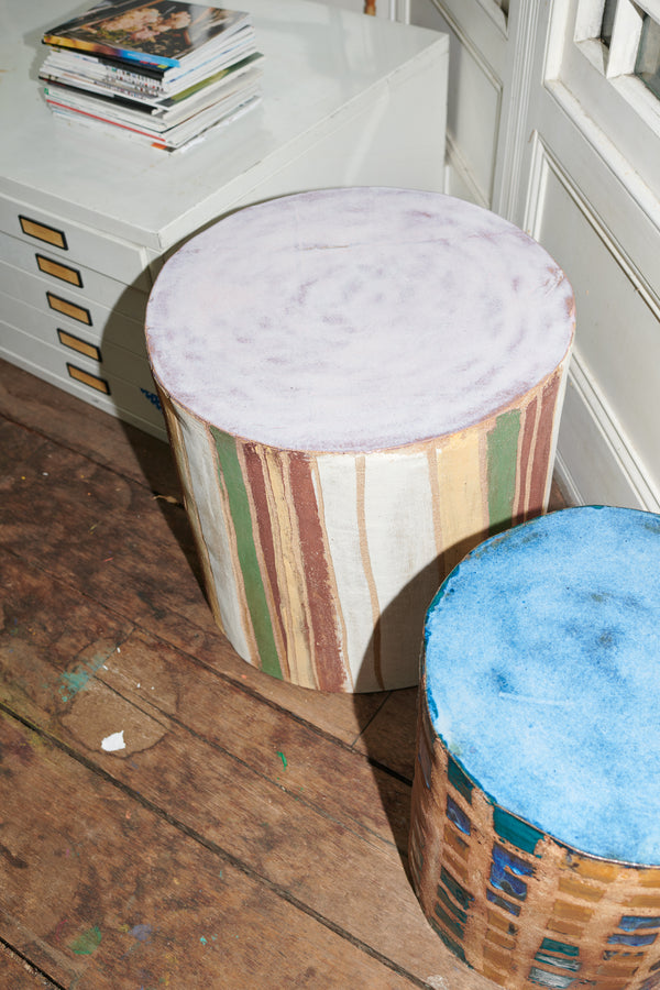 Stool for two (with pink)