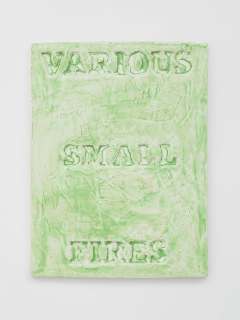 Cover Version (Various Small Fires — green)