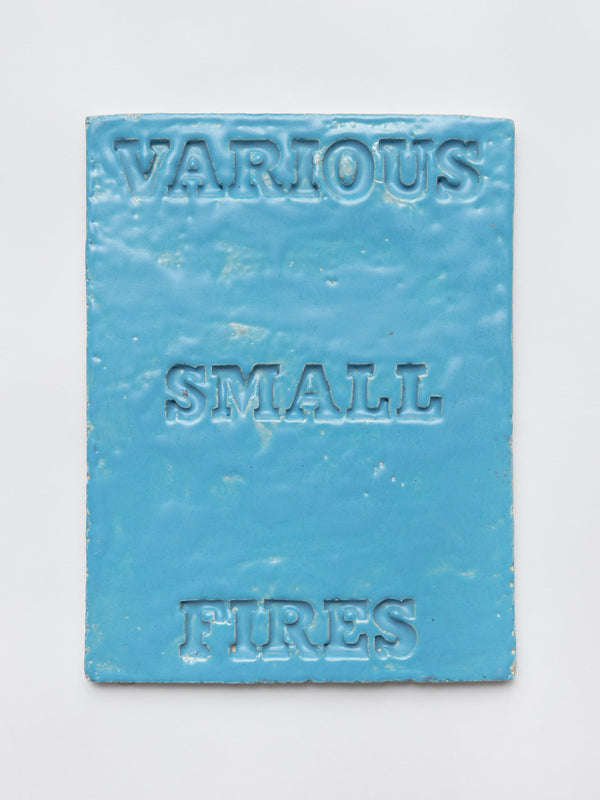 Cover Version (Various Small Fires — blue)