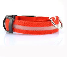 Load image into Gallery viewer, Rechargeable LED Dog Collar