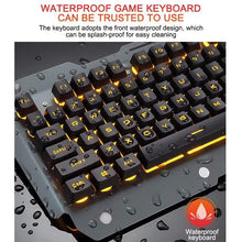 Load image into Gallery viewer, USB RGB Lighting LED Gamer's Keyboard