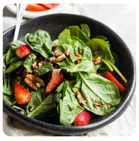 Baby Spinach - Gourmet Salad (minimum 10 salads)