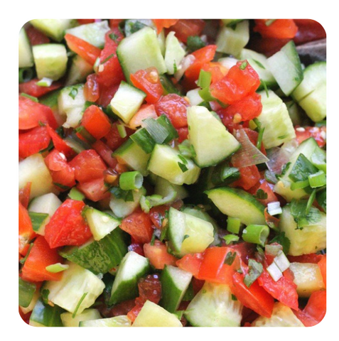 Tomato & Cucumber - Traditional Salad (minimum 10 salads)