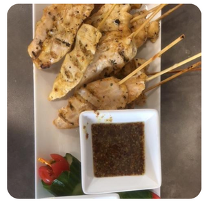 Chicken Satays (minimum 2 dozen)